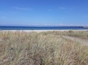 Am Horizont: Die Brücke über den Großen Belt